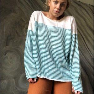 TOMMY BAHAMA oversized linen lightweight sweater